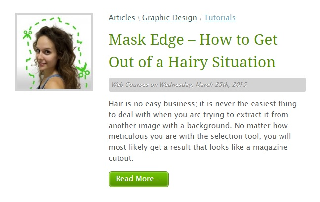 mask edge tutorial