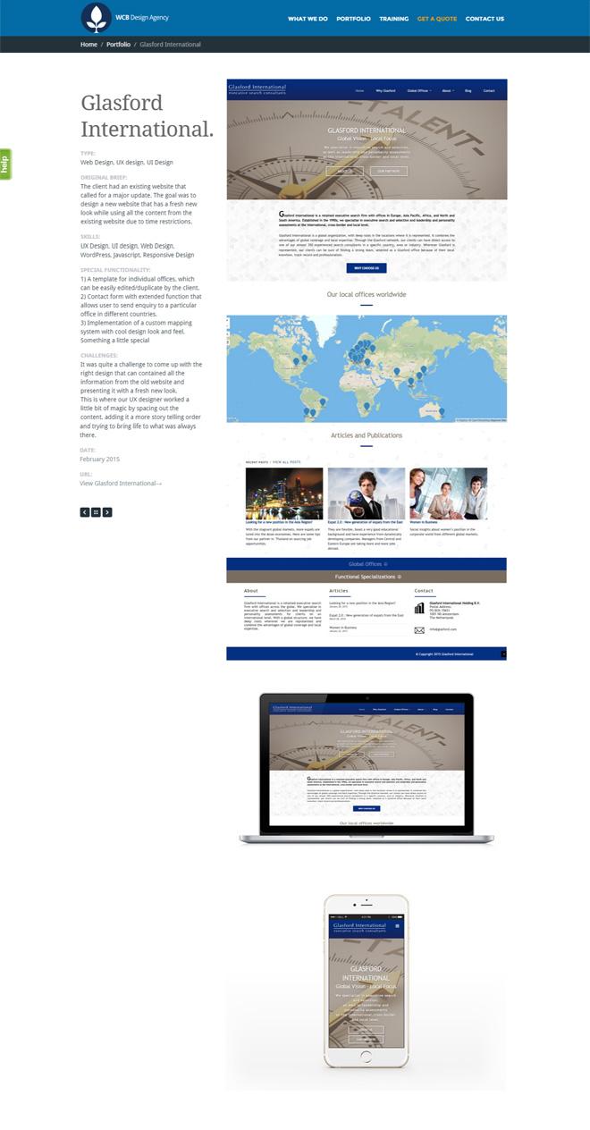 glasford portfolio page
